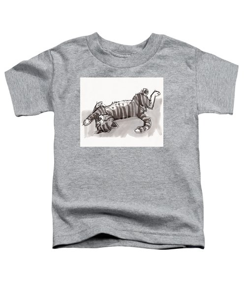 Happy Kitty Toddler T-Shirt