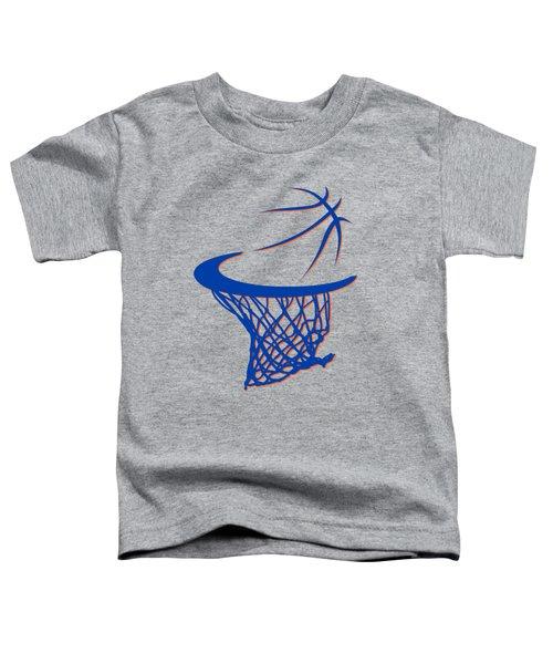 Knicks Basketball Hoop Toddler T-Shirt