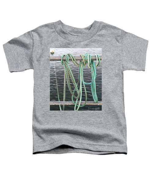 Toddler T-Shirt featuring the photograph Knot Of My Warf II by Stephen Mitchell