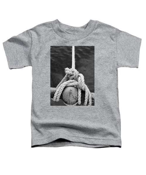 Toddler T-Shirt featuring the photograph Knot On My Warf Iv by Stephen Mitchell