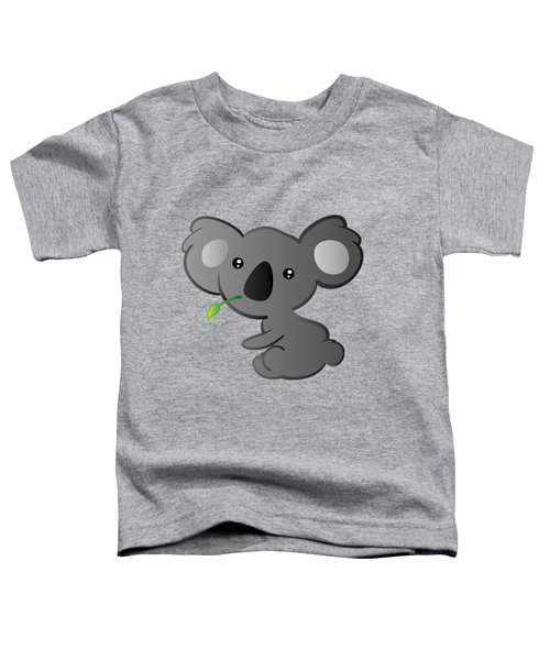 Koala Toddler T-Shirt by Hadeel ArT