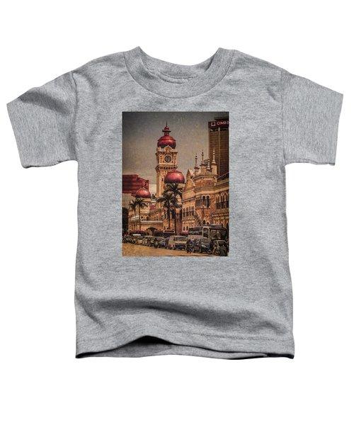 Kuala Lumpur, Malaysia - Red Onion Domes Toddler T-Shirt