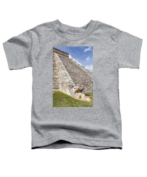 Kukulkan Pyramid At Chichen Itza Toddler T-Shirt