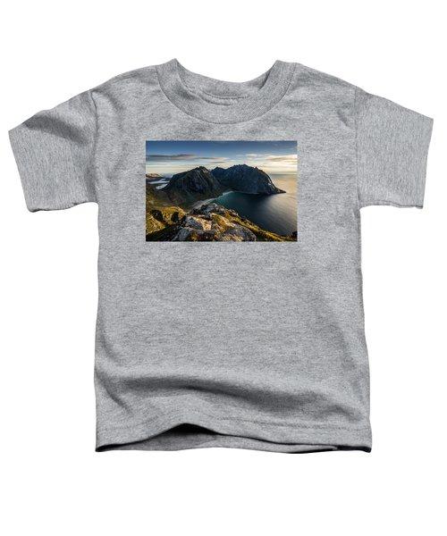 Kvalvika Beach Toddler T-Shirt