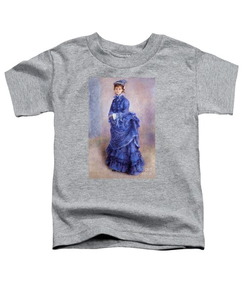 La Parisienne The Blue Lady  Toddler T-Shirt
