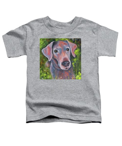 Lab In The Grass Toddler T-Shirt