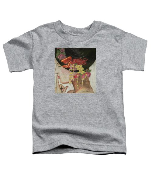 Lady With Hat Toddler T-Shirt
