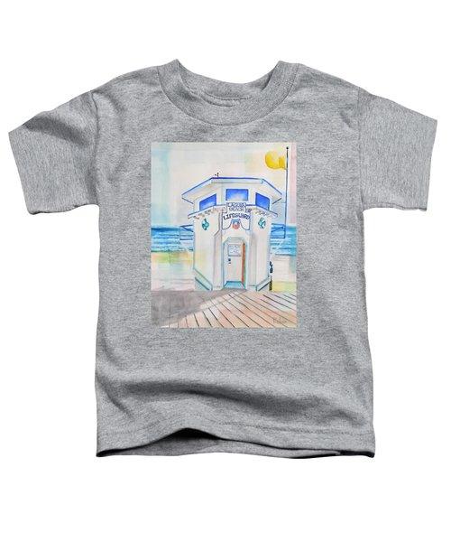 Laguna Lifeguard Tower Toddler T-Shirt