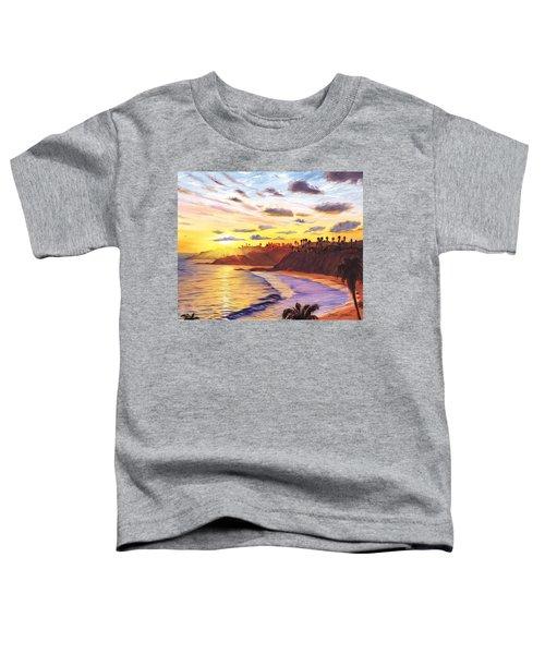 Laguna Village Sunset Toddler T-Shirt
