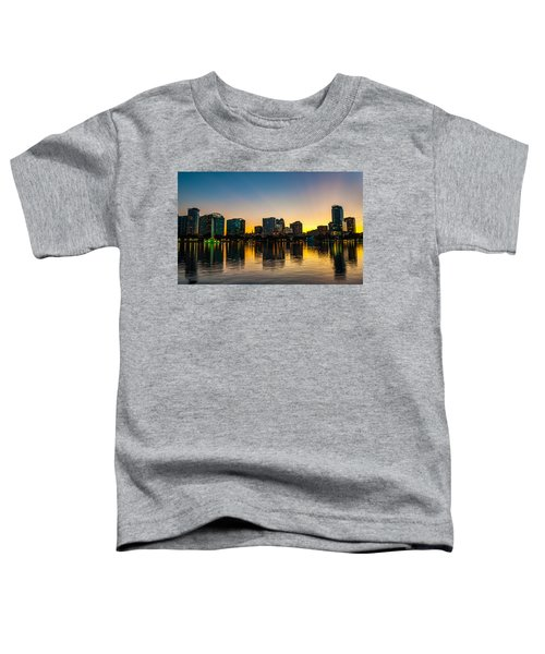 Lake Eola Sunset Toddler T-Shirt