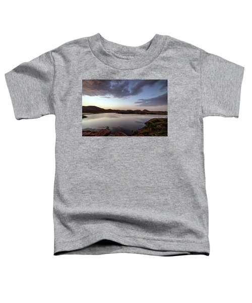 Lake In The Wichita Mountains  Toddler T-Shirt