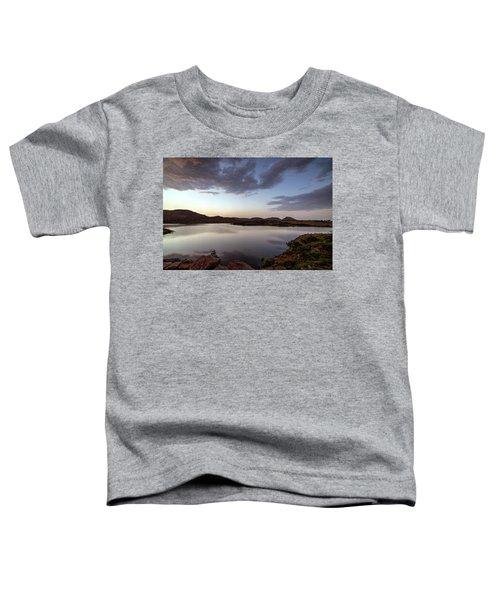 Lake In The Wichita Mountains  Toddler T-Shirt