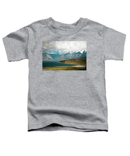 Lake Manasarovar Kailas Yantra.lv Tibet Toddler T-Shirt
