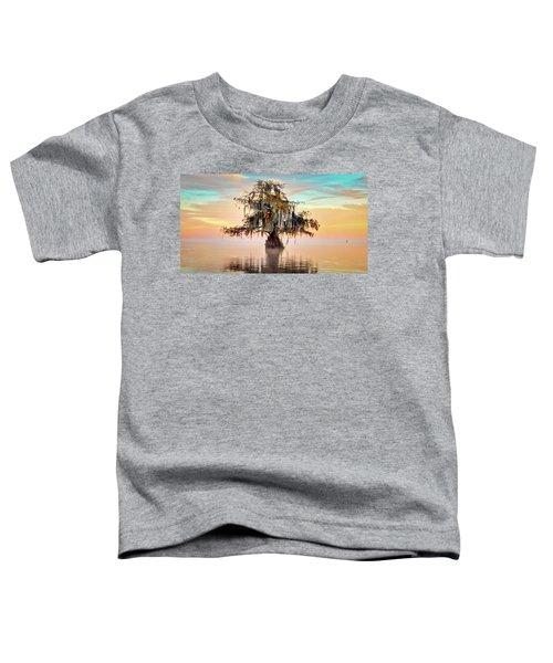 Lake Maurepas In Pastels Toddler T-Shirt