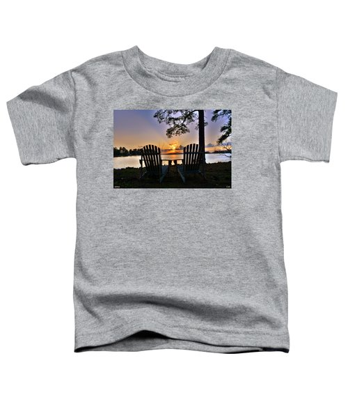 Lake Murray Relaxation Toddler T-Shirt