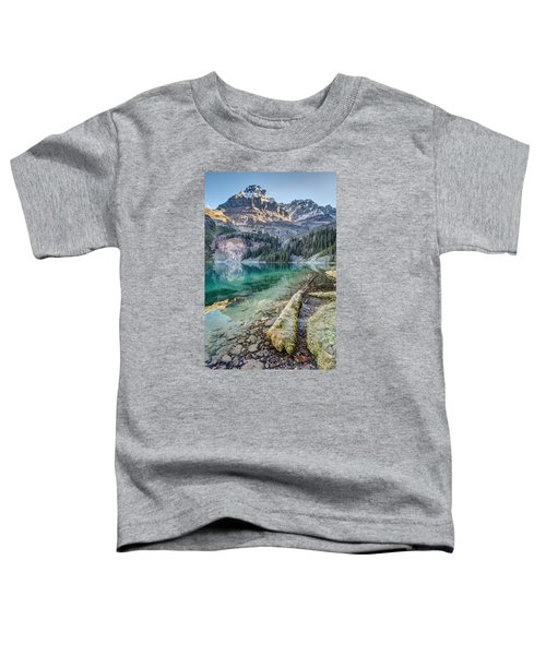 Lake O'hara Scenic Shoreline Toddler T-Shirt