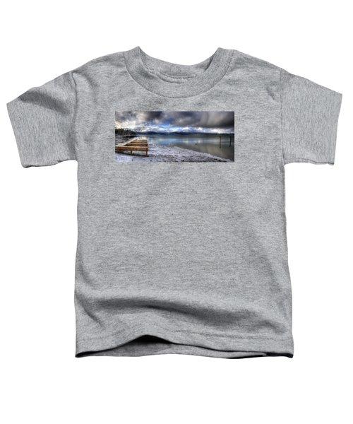 Lake Pend D'oreille At 41 South Toddler T-Shirt
