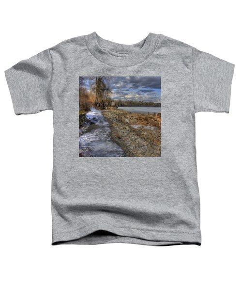 Lake Pend D'oreille At Humbird Ruins Toddler T-Shirt