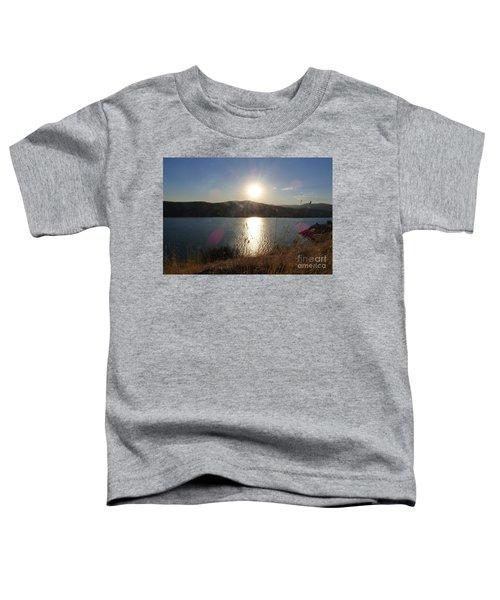 Lake Roosevelt Sun Toddler T-Shirt