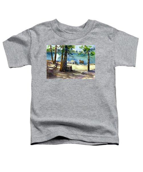 Lake Valley Bear Toddler T-Shirt
