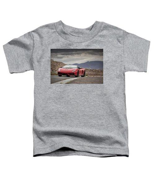Lamborghini Gallardo Lp570-4 Spyder Performante Toddler T-Shirt