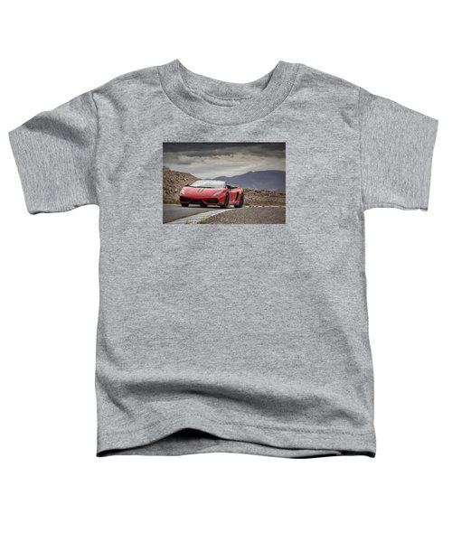 Lamborghini Gallardo Lp570-4 Spyder Performante Toddler T-Shirt