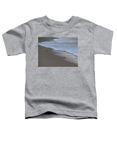 Lamu Island - Crabs Playing At Sunset 4 Toddler T-Shirt