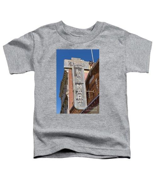 Lan Mart Building In Petaluma California Usa Dsc3772 Toddler T-Shirt