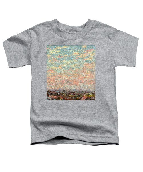 Land And Sky 3 Toddler T-Shirt