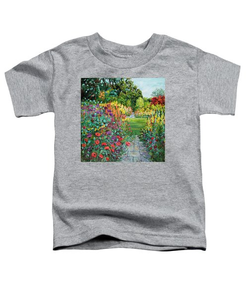 Landscape With Poppies Toddler T-Shirt