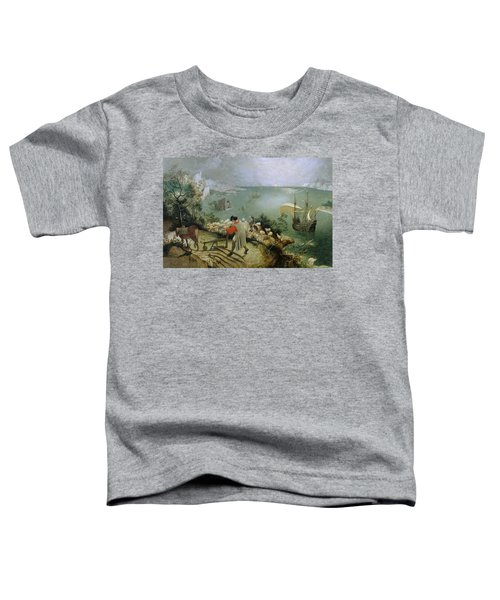 Landscape With The Fall Of Icarus Toddler T-Shirt