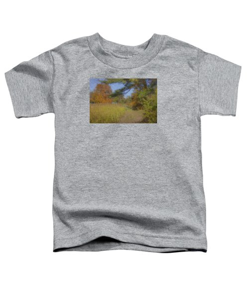 Langwater Farm Tractor Path Toddler T-Shirt