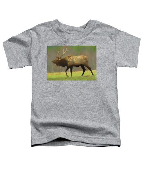 Large Pennsylvania Bull Elk. Toddler T-Shirt