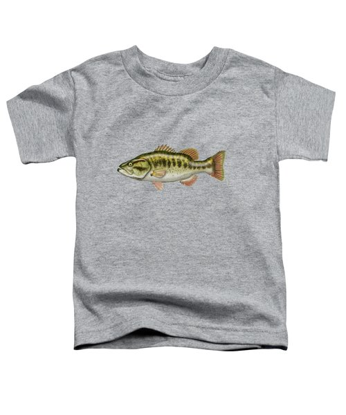 Largemouth Bass Toddler T-Shirt