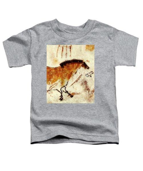 Lascaux Prehistoric Horse Detail Toddler T-Shirt
