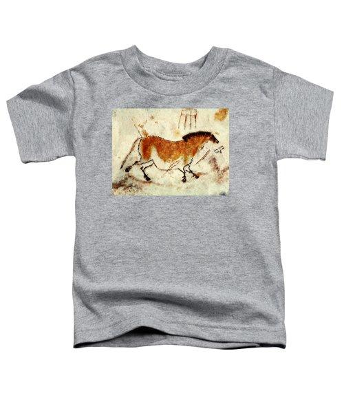 Lascaux Prehistoric Horse Toddler T-Shirt