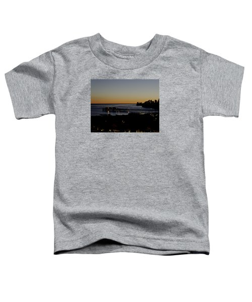 Toddler T-Shirt featuring the photograph Last 2015 Sunset by Lora Lee Chapman