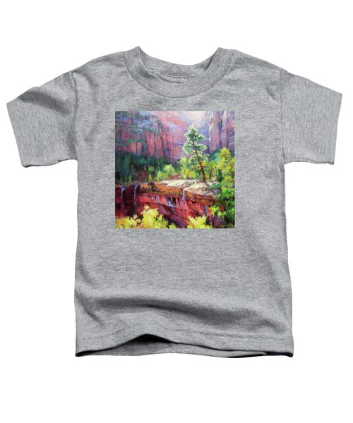 Last Light In Zion Toddler T-Shirt