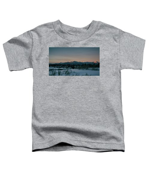Last Light On Pagosa Peak Toddler T-Shirt