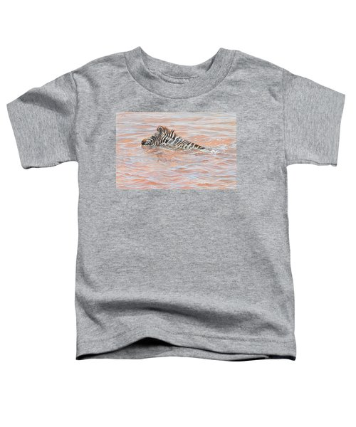Last To Cross Toddler T-Shirt