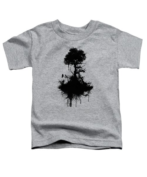 Last Tree Standing Toddler T-Shirt by Nicklas Gustafsson