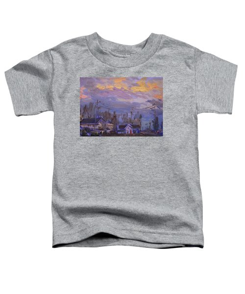 Late Evening In Town Toddler T-Shirt