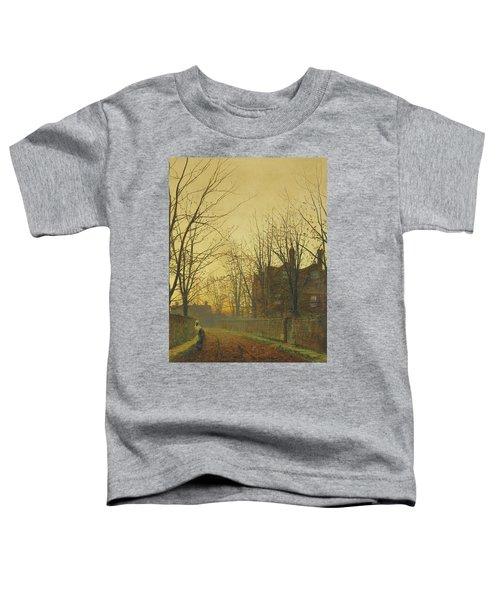Late October Toddler T-Shirt