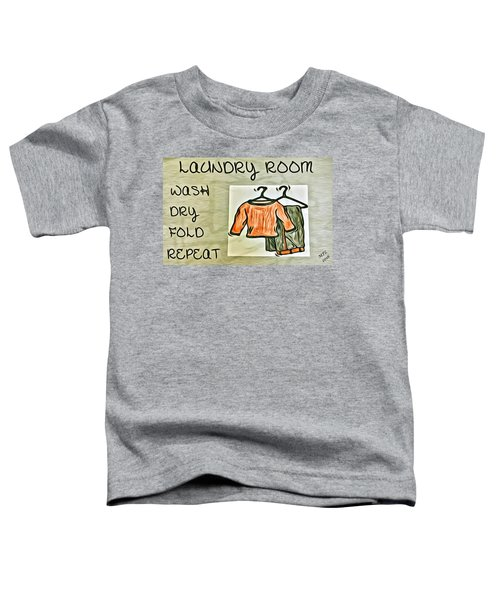 Laundry Room Toddler T-Shirt