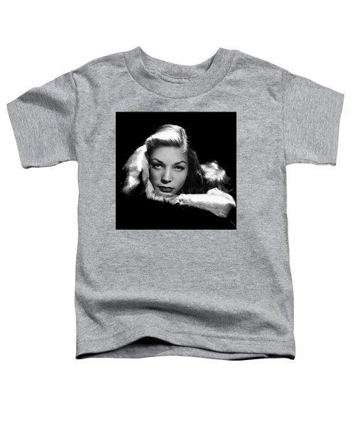 Lauren Bacall Publicity Photo Circa 1945-2015 Toddler T-Shirt