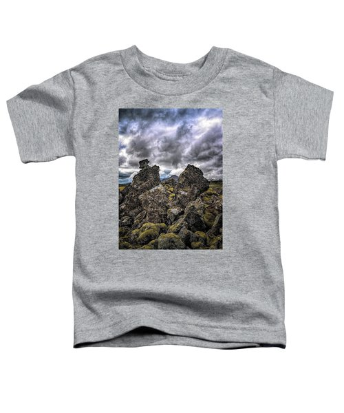 Lava Rock And Clouds Toddler T-Shirt