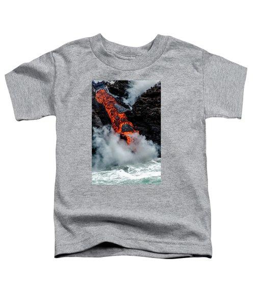 Lava Train Toddler T-Shirt