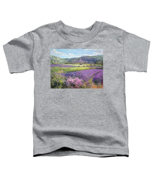 Lavender Fields In Old Provence Toddler T-Shirt