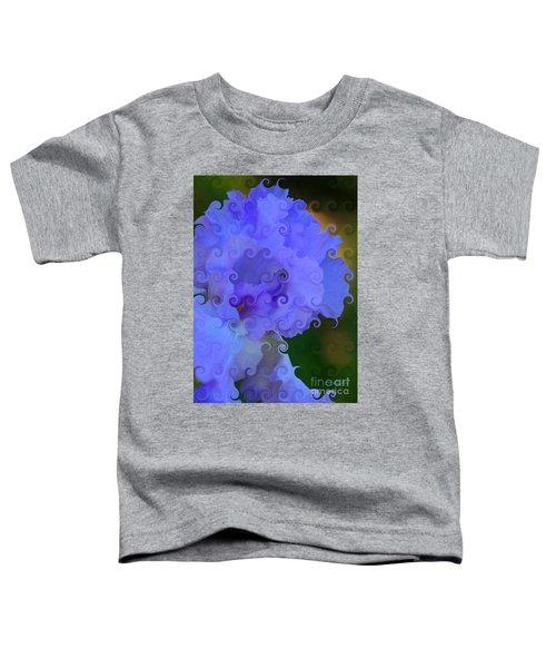 Lavender Curlicue Iris  Toddler T-Shirt