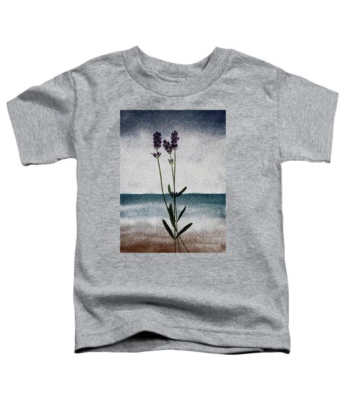 Lavender Ocean Breath Toddler T-Shirt